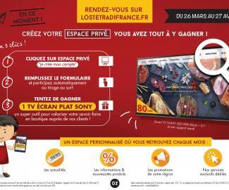 Loste Tradi-France/Création espace privé